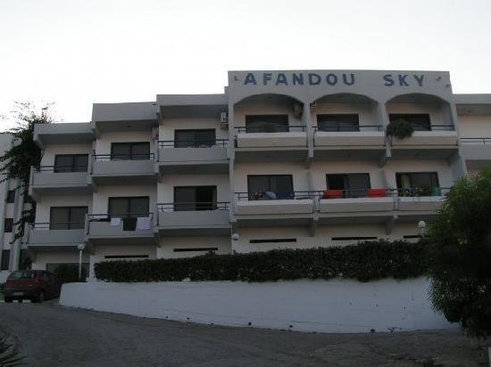Afandou Sky Hotel: review!