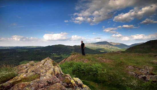 Ambleside, UK: An early mornings walk on Loughrigg