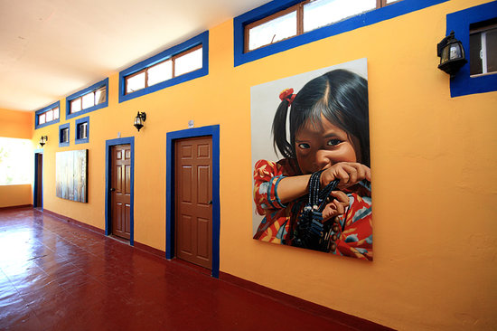 Hotel Cielito Lindo: The hotel is a fine Mexican Art Gallery