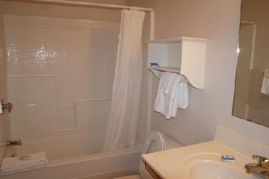 Affordable Suites of America: view of the bathroom