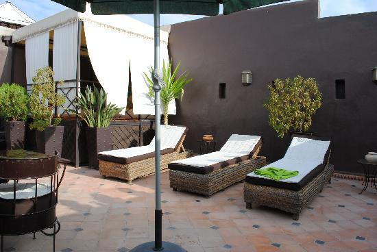 Riad Argan: Roof terrace