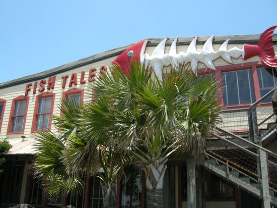 Fish tales galveston menu prices restaurant reviews for Fish tales restaurant