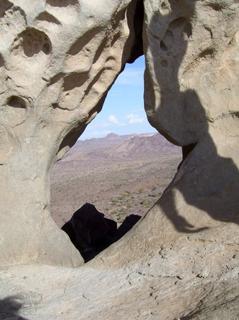 Lake Havasu City, AZ: Geological wonder: Rovey's Needle