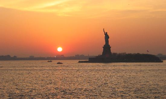 New York City, NY: Vue du Ferry de Staten Island