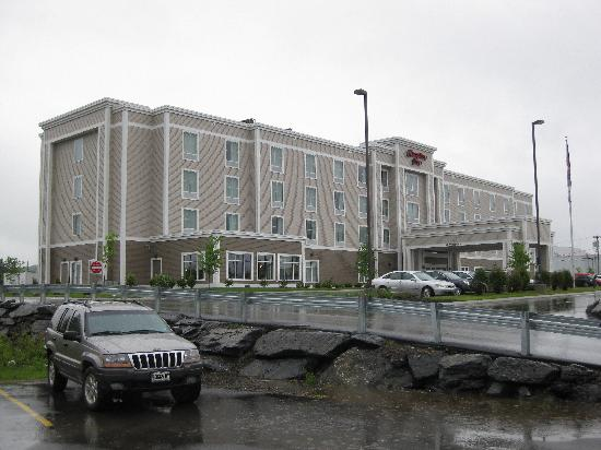 Hampton Inn Presque Isle: Rainy day in Presque Isle