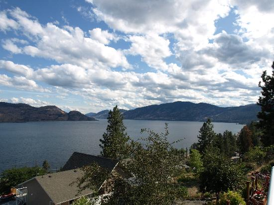 Peachland, Kanada: What can you say about that view!