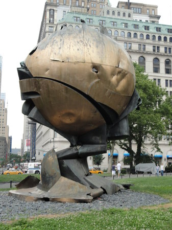 New York City, NY: The Sphere after 9/11