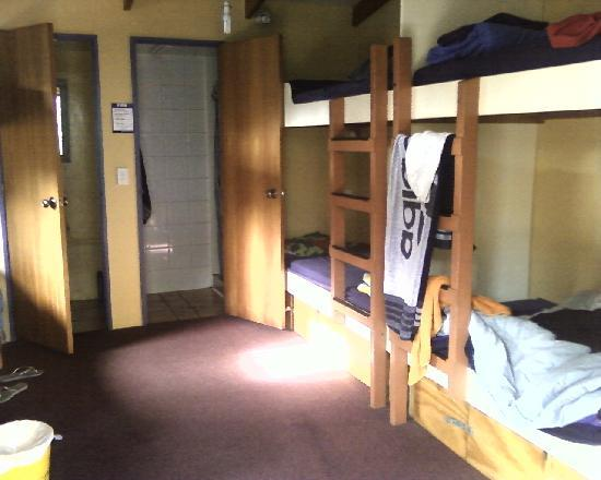 Paradiso Backpackers: shared dorm with ensuite