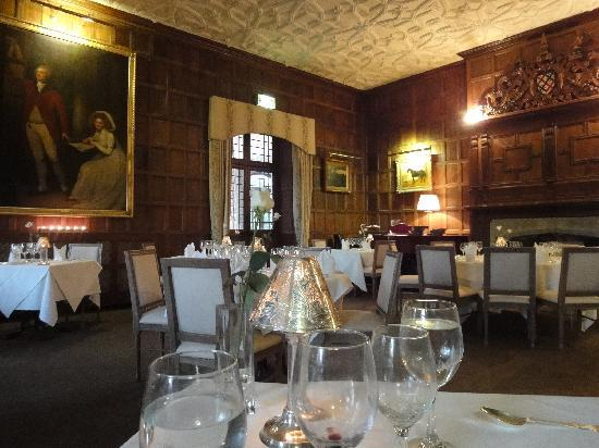Dining room picture of waterford castle hotel