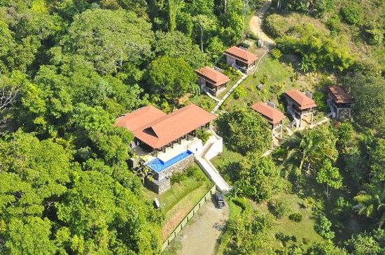 TikiVillas Rainforest Lodge: TikiVillas Aerial View