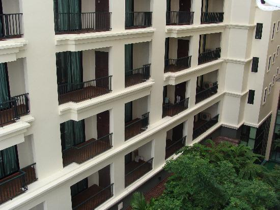 Mike Garden Resort Hotel: Hotel View