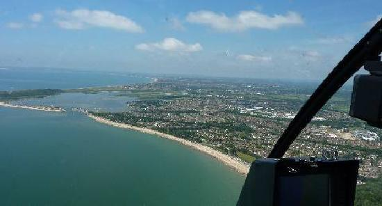 Portsmouth By Air  Picture Of Helicopter Pleasure Flights Chichester  Trip