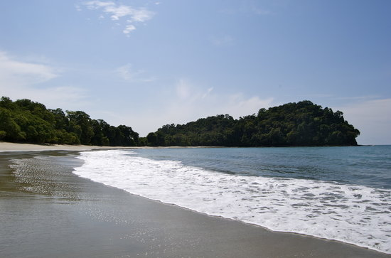 Manuel Antonio Nationaal Park, Costa Rica: Manuel Antonio NP Beach