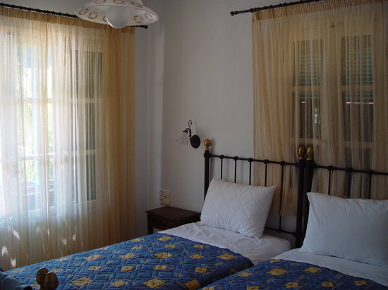Villa Delona: Twin bedroom on groundfoor