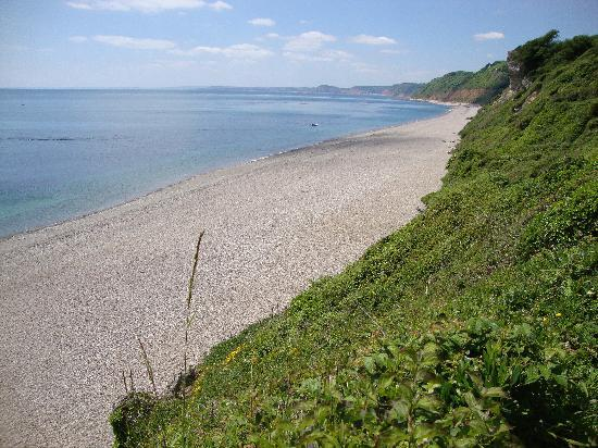 Great Seaside B & B: Branscombe Beach