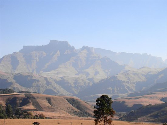 Drakensberg Region, Sydafrika: Drakensderg mountains, stunning
