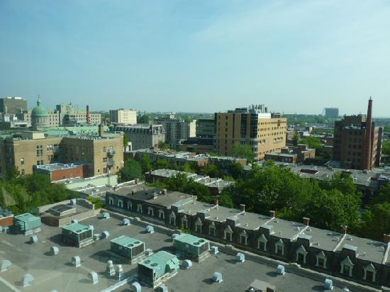 McGill New Residence Hall: view from our window