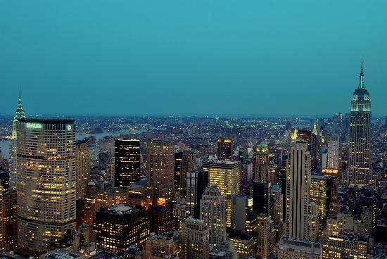 New York City, NY: Twilight of the city