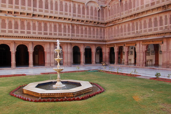 Bikaner, India: Patio del Laxmi Niwas