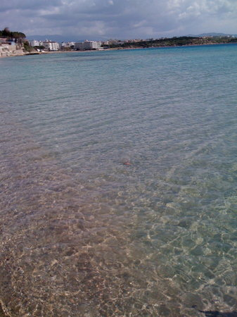 Altinkum, Turchia: Clear water