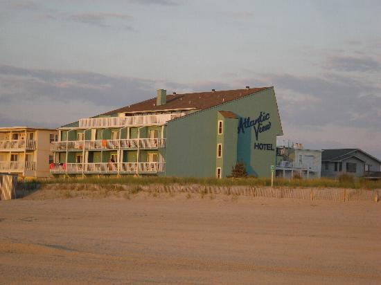 Dewey Beach, DE: the hotel