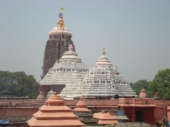 Puri, Indien: The jagananth temple complex