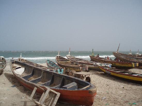 Nouakchott, Mauretanien: le port traditionnel