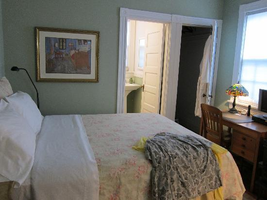 Museum District Bed & Breakfast: Suite behind the main house