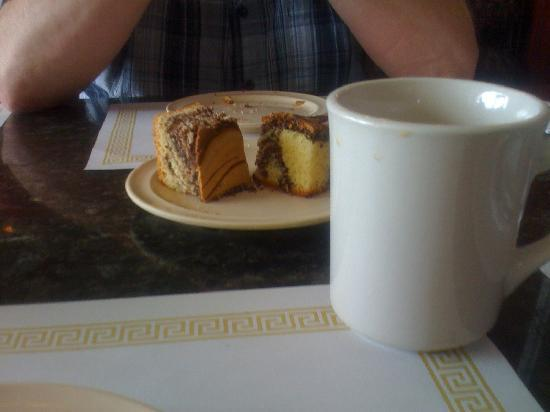 Flakowitz of Boynton Incorporated: Marble cake brought to table