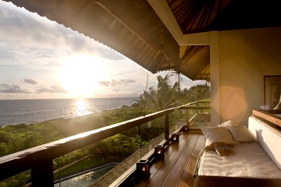 The Shore Villa: Spectacular views of the Indian ocean