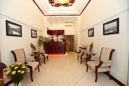 Hanoi Paradise Hangbac Hotel: Hanoi Paradise Hotel Lobby