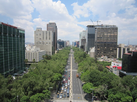 Mexico City, Mexico: Reforma avenue