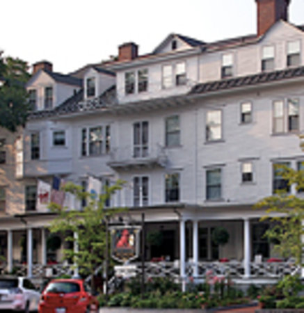 The Red Lion Inn and its famous front porch.