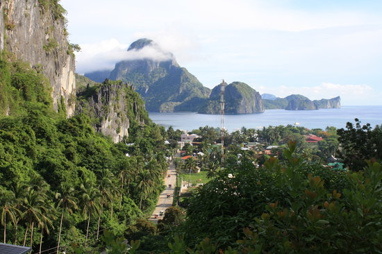 Palawan Island, Philippines: View from our room