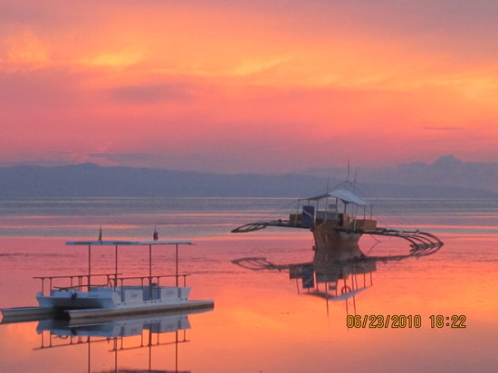 Panglao Island, Filippinerna: sunset!!!!