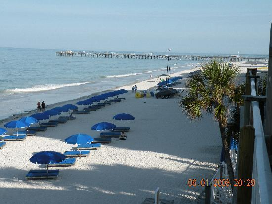 North Redington Beach, FL: Beach view from Sandalwood
