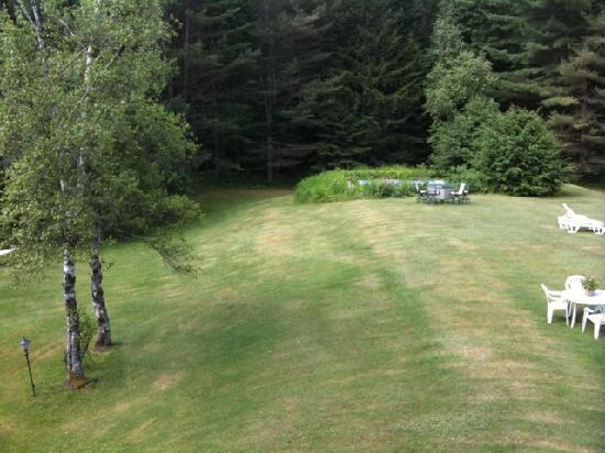 Honeywood Inn: View from our balcony