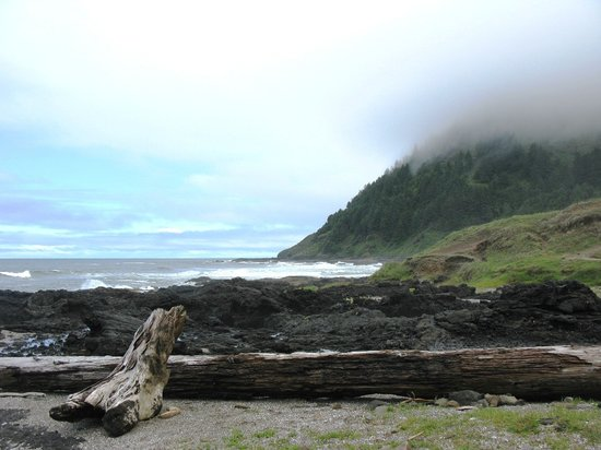 Yachats, OR: Cape Perpetua view