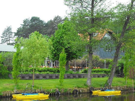 Storkow, Germany: See Hotel from the dock
