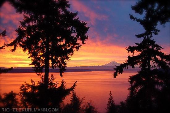 Vashon, วอชิงตัน: Take in the breathtaking views of Mt. Rainer and Puget Sound!