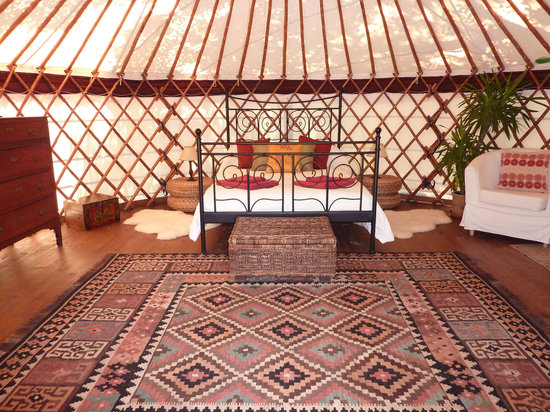 The Hoopoe Yurt Hotel