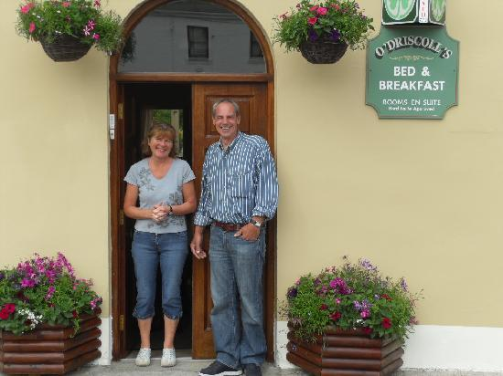 O'Driscoll's Bed & Breakfast: Estelle with John