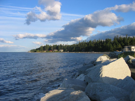 Comox, Kanada: The Beach Nearby