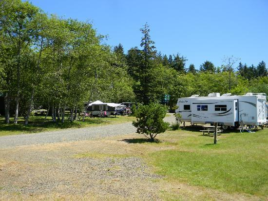 Sea Ranch RV Park & Stables: area near the Ecola creek view