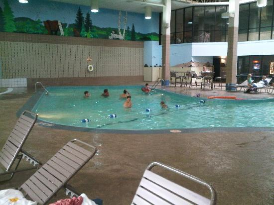 One Of The Two Indoor Pools