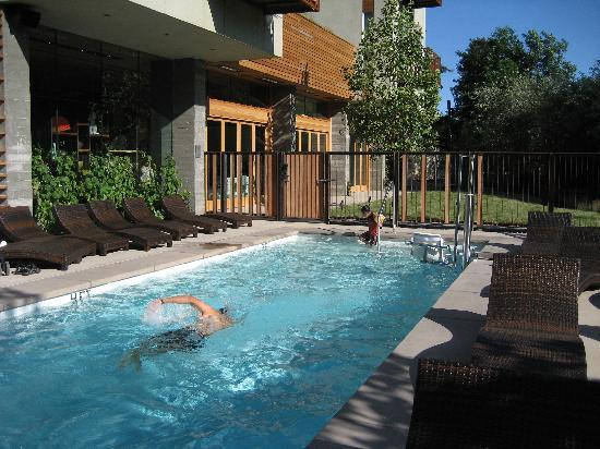 Nice swimming pool and relaxing lounge chairs picture of h2 hotel healdsburg tripadvisor for Nice hotels with swimming pool