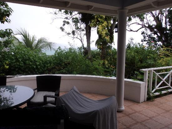 Cottage patio at Jamaica Inn, Ocho Rios
