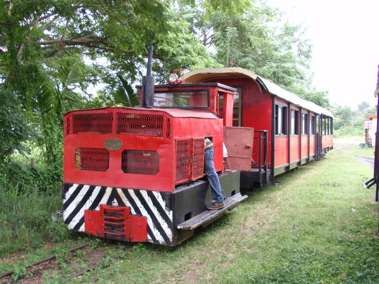 Sigatoka, Fiji: No. 8 Diesel Train