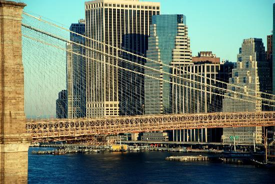 New York City, NY: Brooklyn bridge