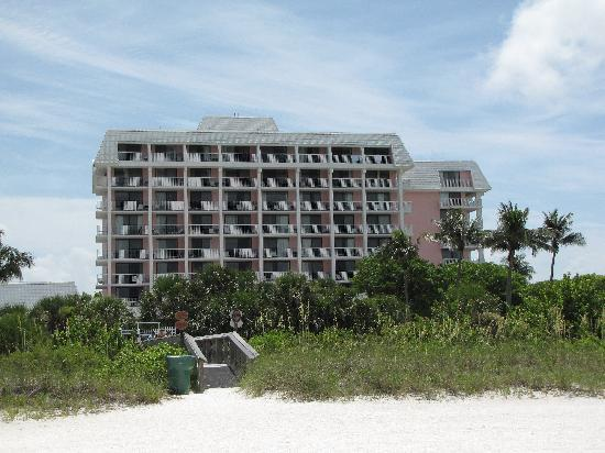the surf club from the beach